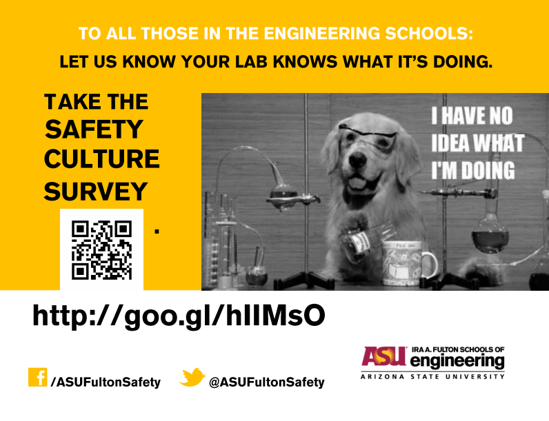Safety Culture Survey Poster